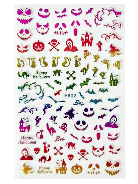 Stickers Halloween F602 Colorido