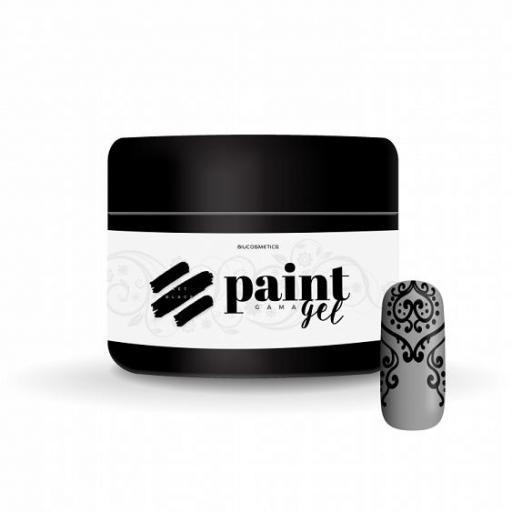 Gel Paint Jet black Biucosmetics