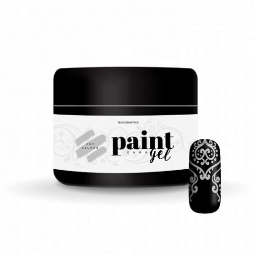 Gel paint Jet silver Biucosmetics  [0]