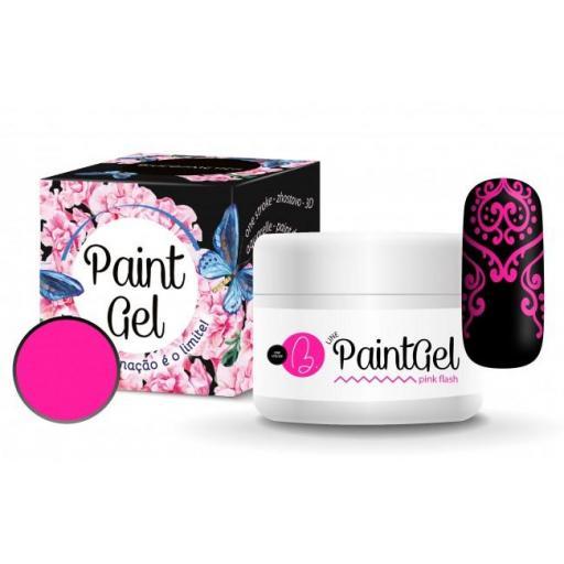 Gel paint Pink flash Biucosmetics