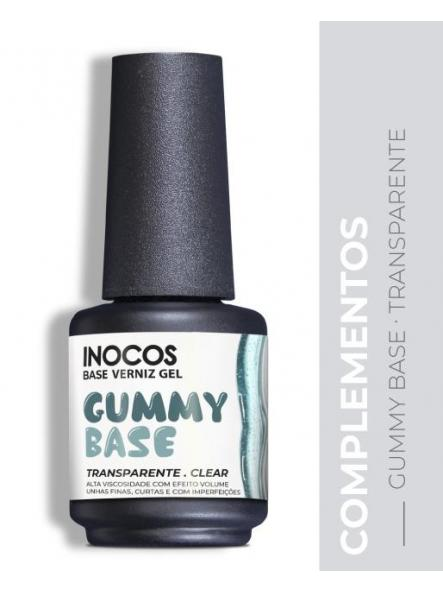Base gummy Transparente Inocos 15 ml