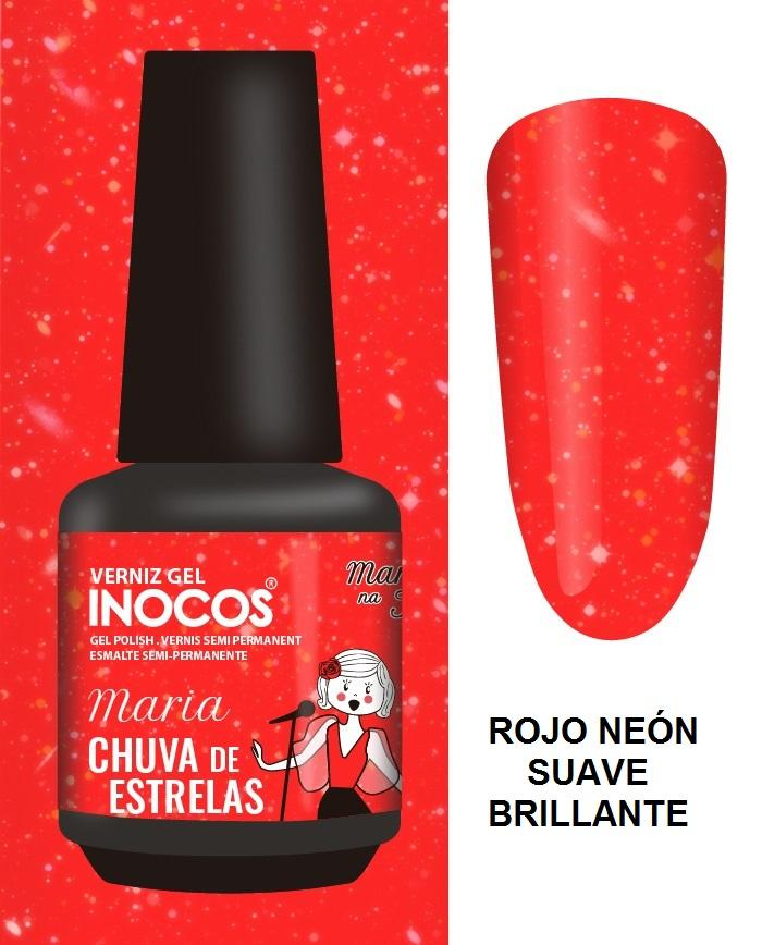Esmalte Inocos *Chuva de estrelas*