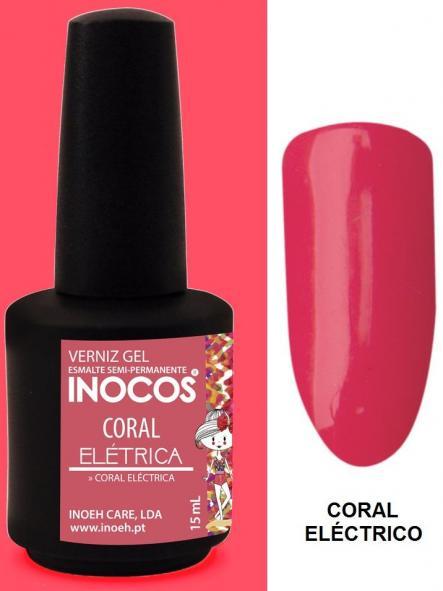 Esmalte Inocos *Coral eléctrica*