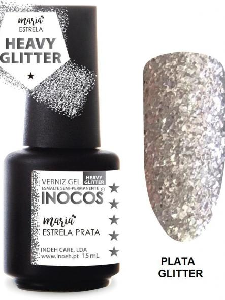 Esmalte Inocos *Estrela prata*