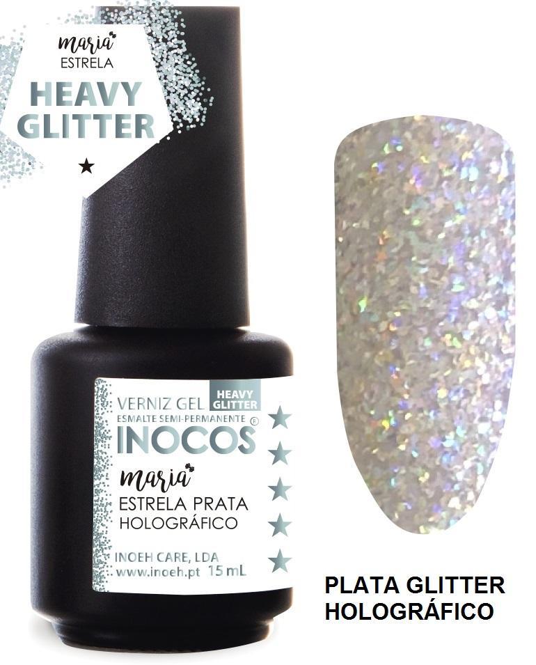 Esmalte Inocos *Estrela holográfico*