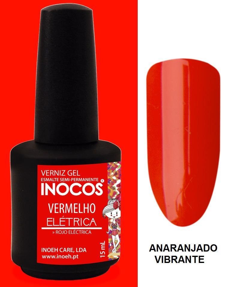 Esmalte Inocos *Vermelho eléctrica*