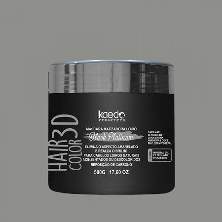 Máscara 3D Black platinum Kaedo 500 gr