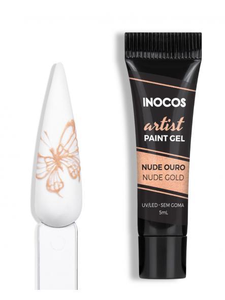 Gel paint Nude oro 3D Inocos