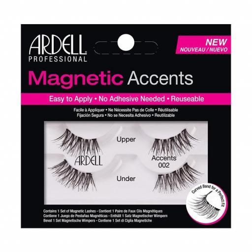 Pestañas magnéticas Ardell-02 [0]