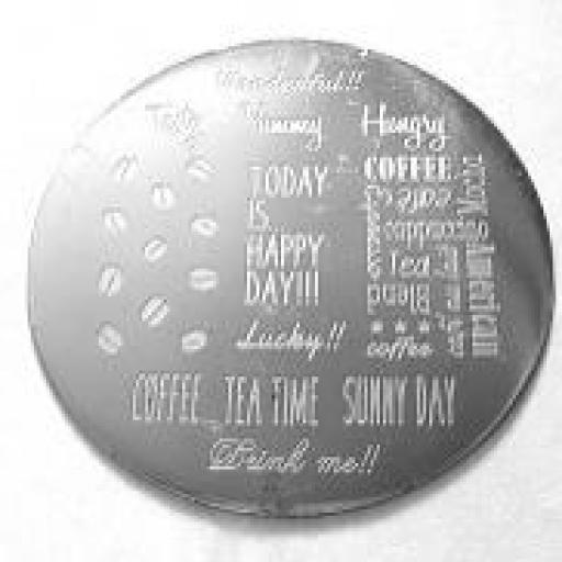Placa stamping redonda nav-012