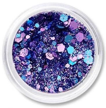 Polvo de glitter Crispy blue