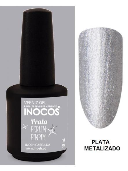 Esmalte Inocos *Prata perlimpimpim*