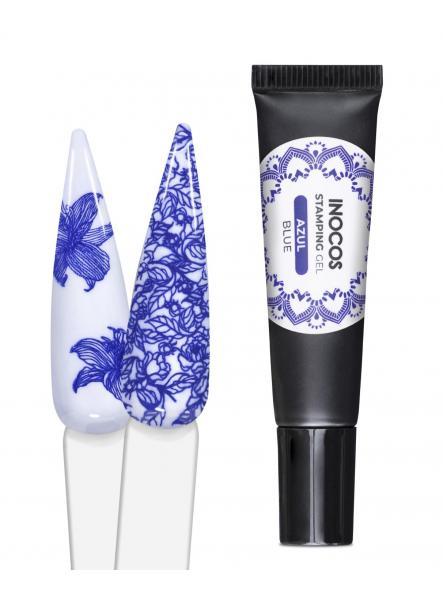 Gel stamping Inocos azul