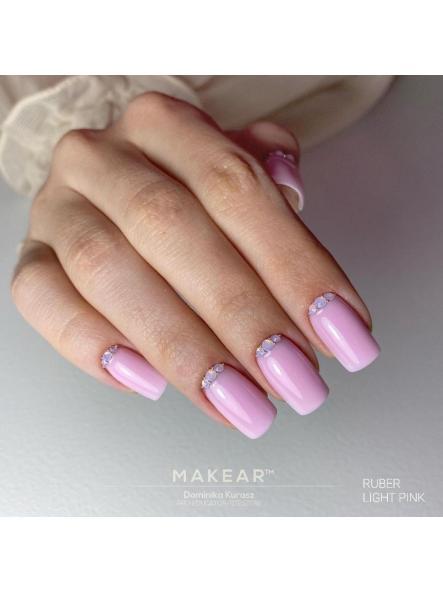 Base Rubber 2 en 1 Light pink Makear  [1]