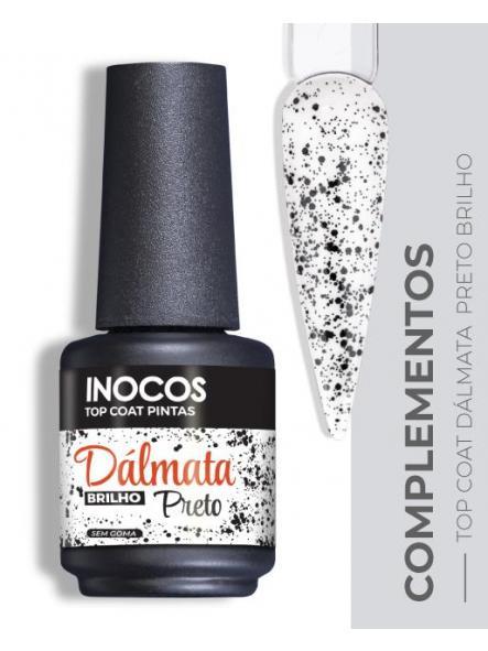 Top coat Dálmata negro brillo Inocos