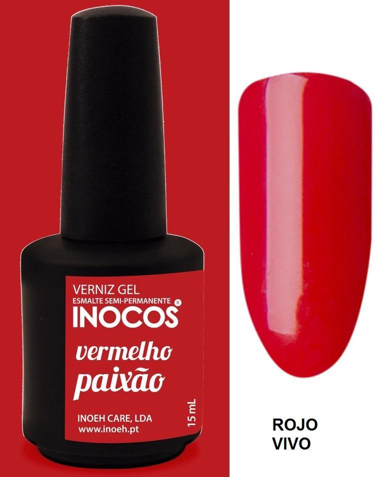 Esmalte Inocos *Vermelho paixão*
