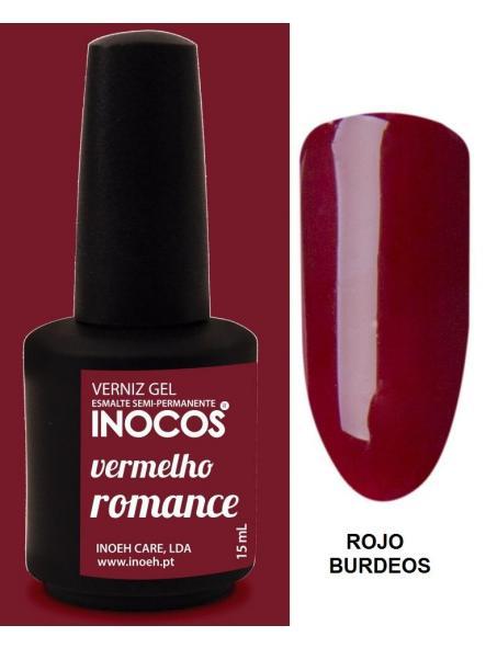 Esmalte Inocos *Vermelho romance*