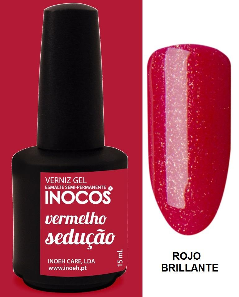 Esmalte Inocos *Vermelho sedução*