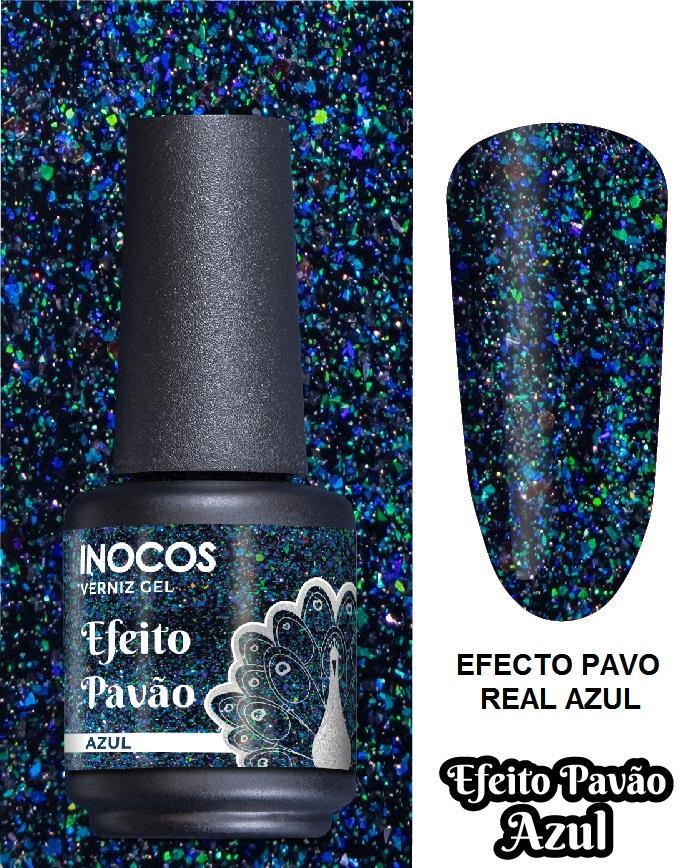 Esmalte Inocos *Efeito pavão azul*