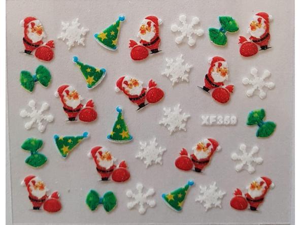 Stickers navideños xf-359