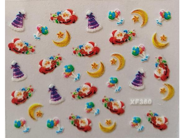 Stickers navideños xf-360