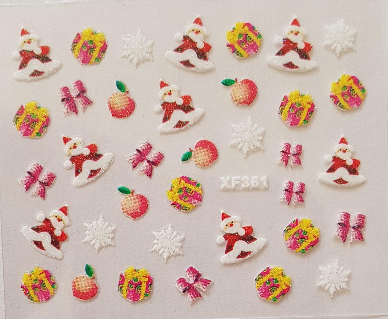 Stickers navideños xf-361