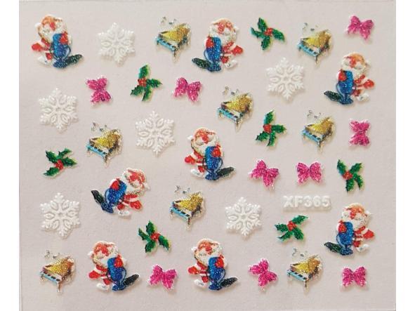 Stickers navideños xf-365