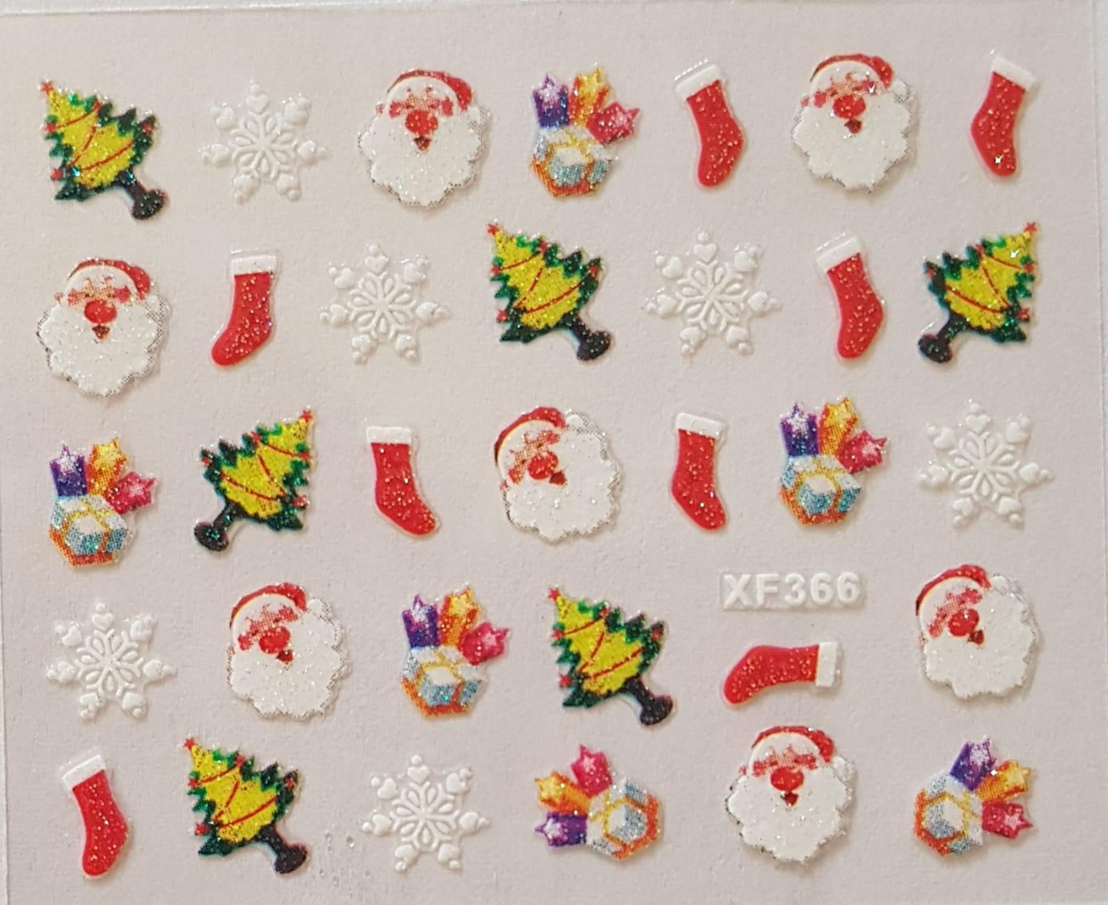 Stickers navideños xf-366