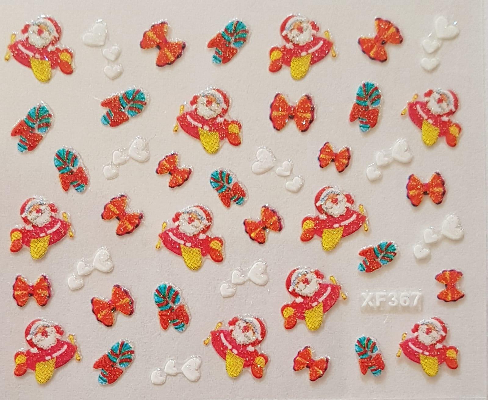 Stickers navideños xf-367