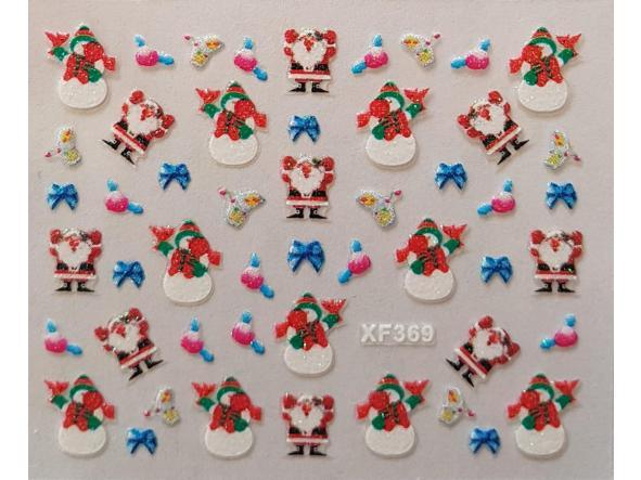 Stickers navideños xf-369