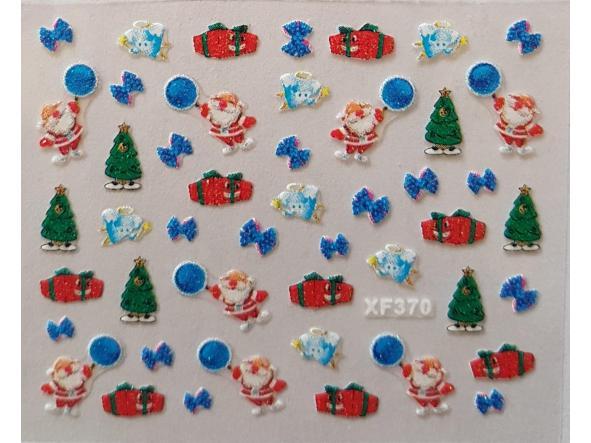 Stickers navideños xf-370