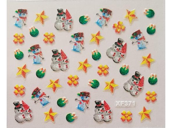 Stickers navideños xf-371