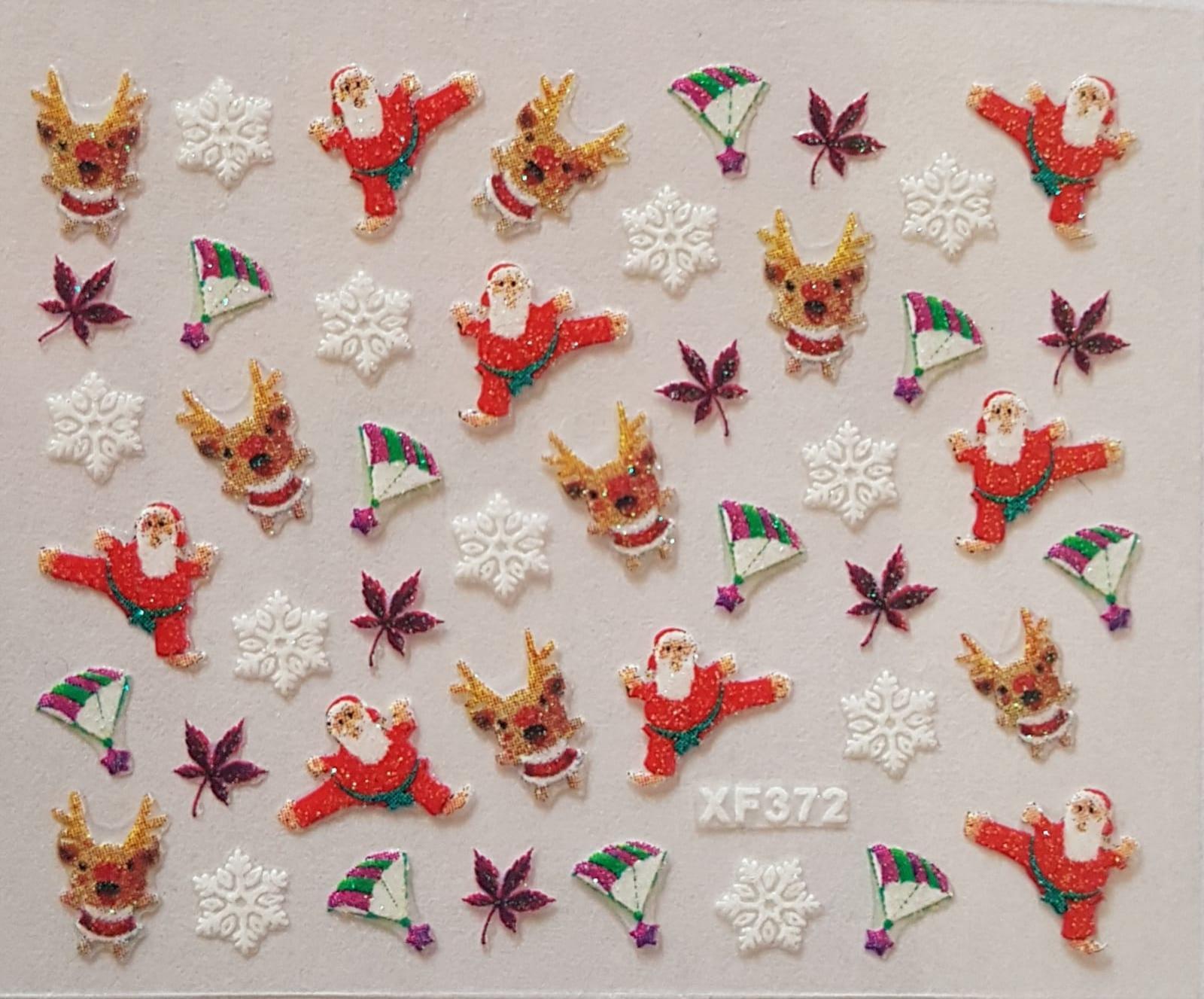 Stickers navideños xf-372