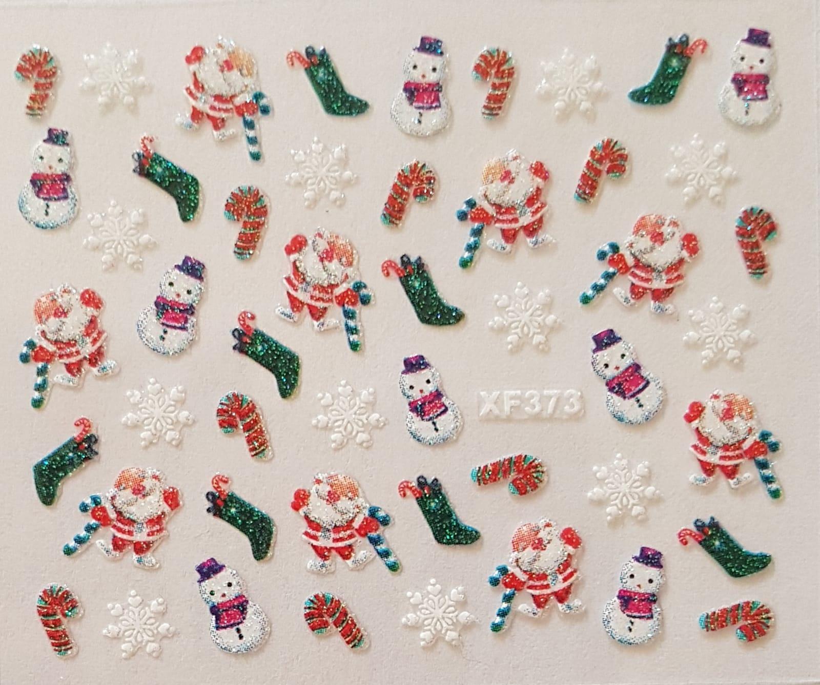 Stickers navideños xf-373
