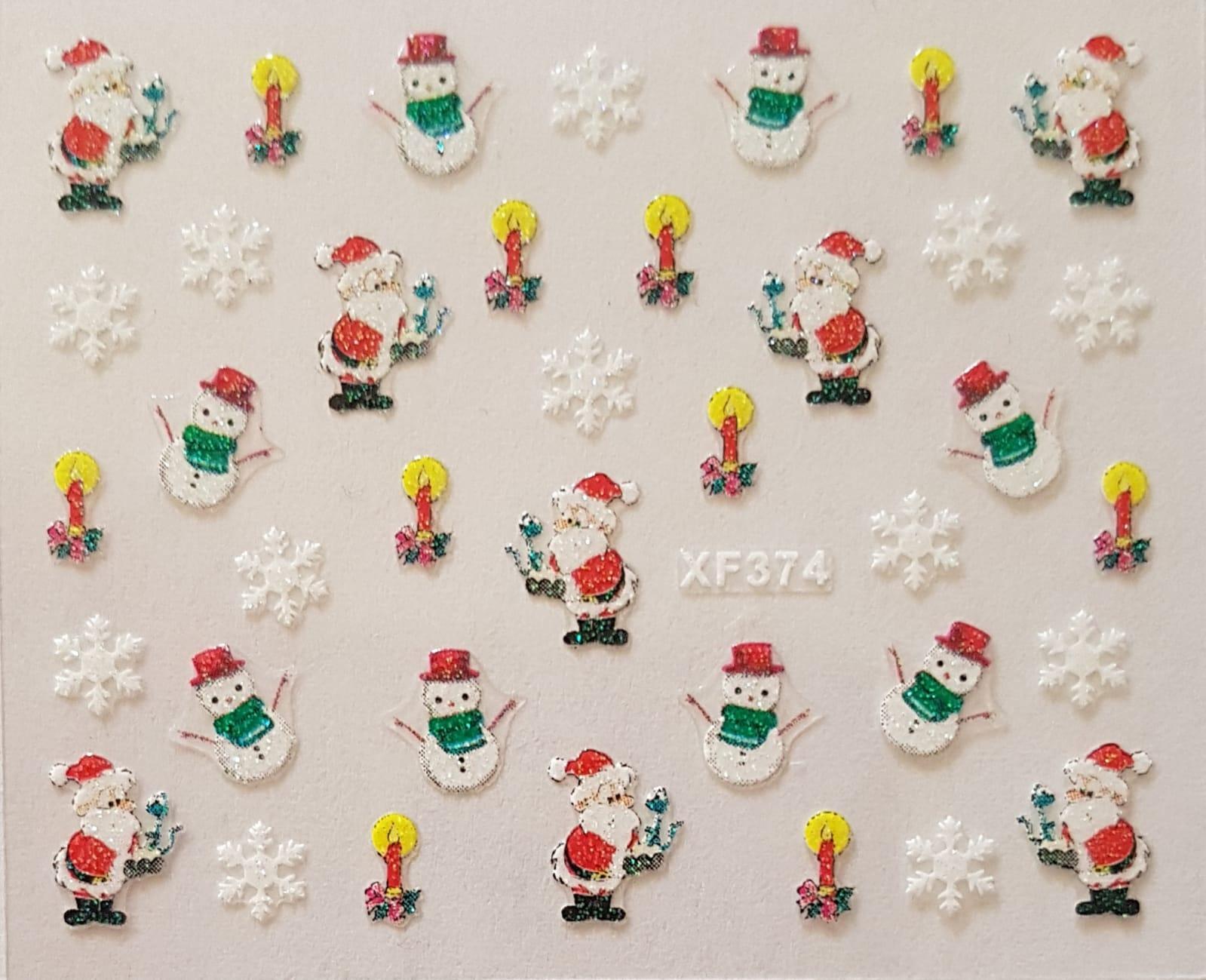 Stickers navideños xf-374