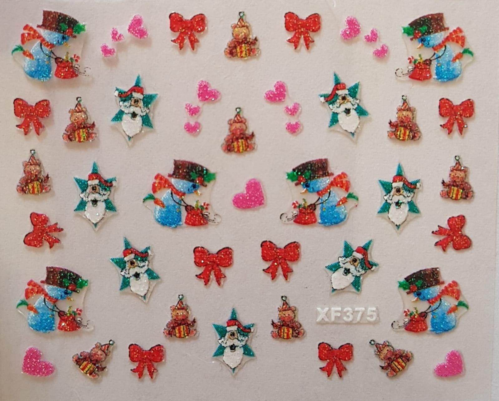 Stickers navideños xf-375
