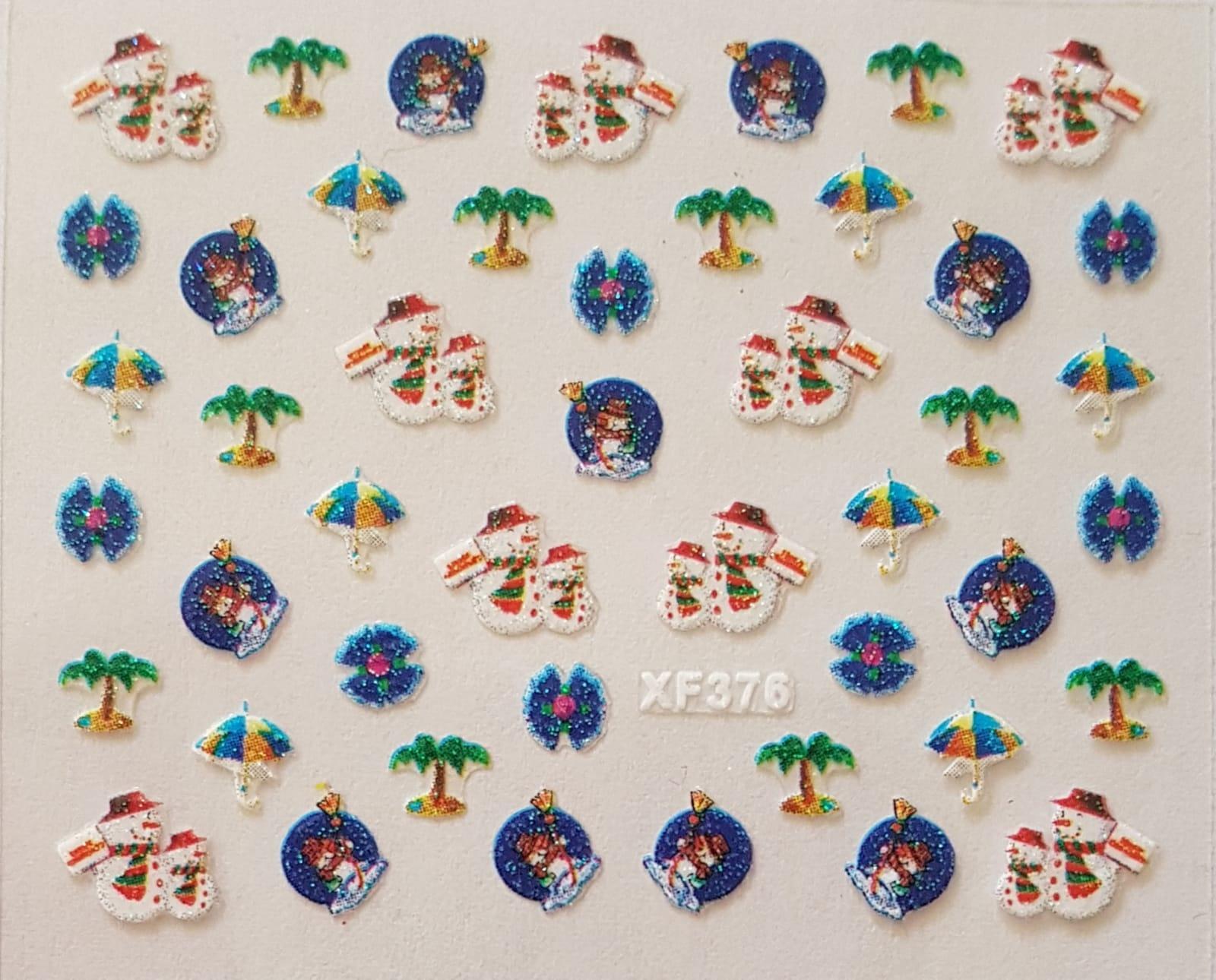 Stickers navideños xf-376
