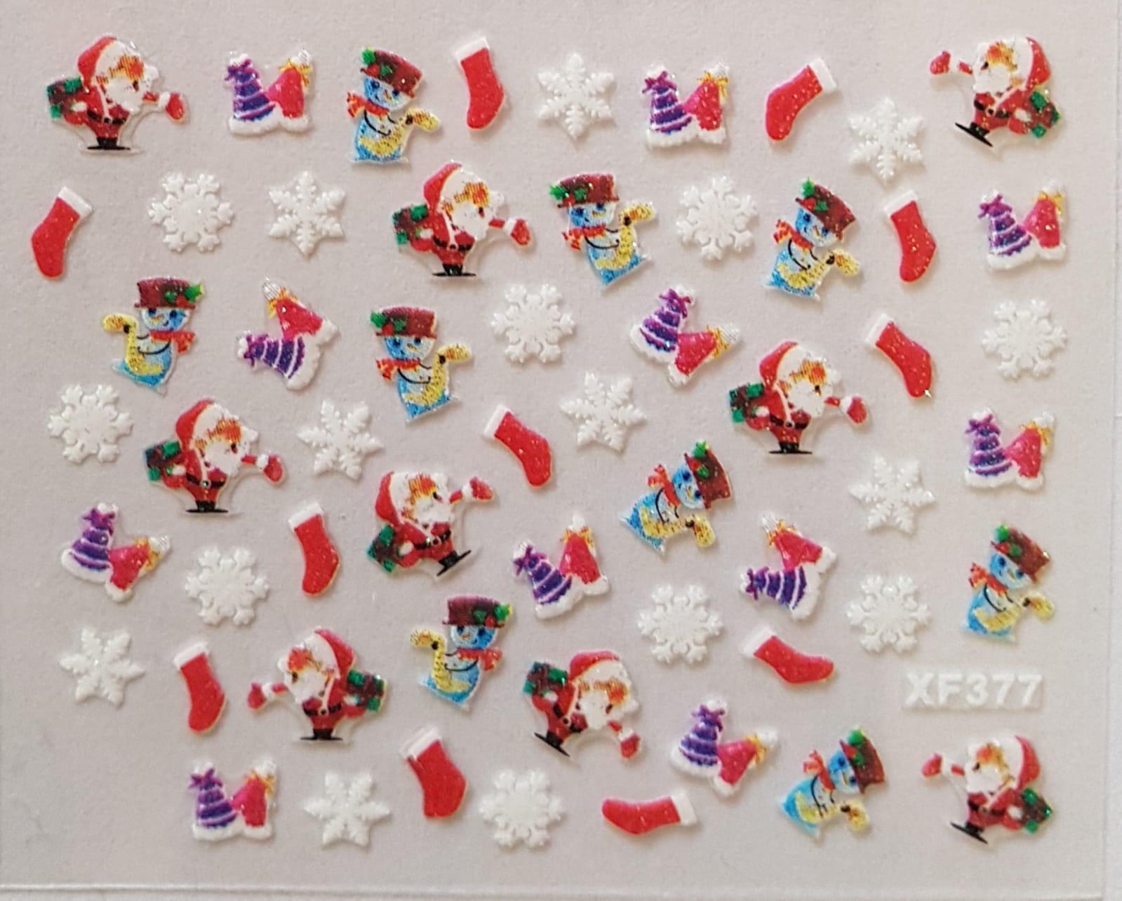 Stickers navideños xf-377