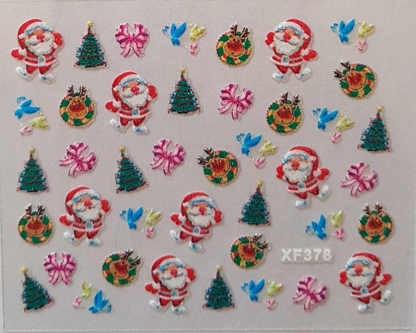 Stickers navideños xf-378