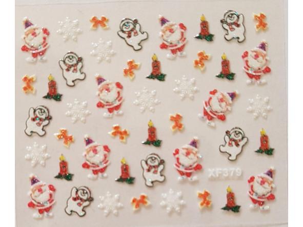 Stickers navideños xf-379