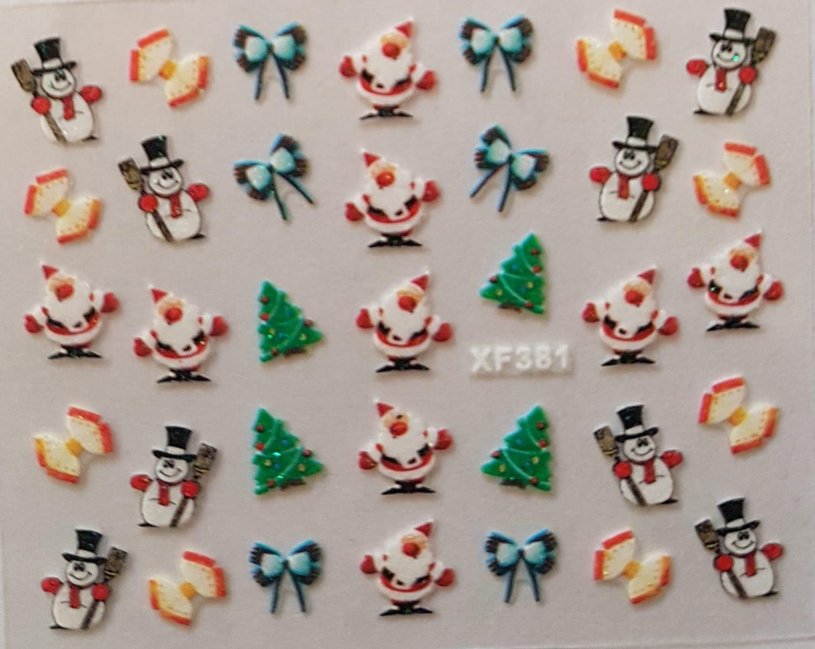 Stickers navideños xf-381