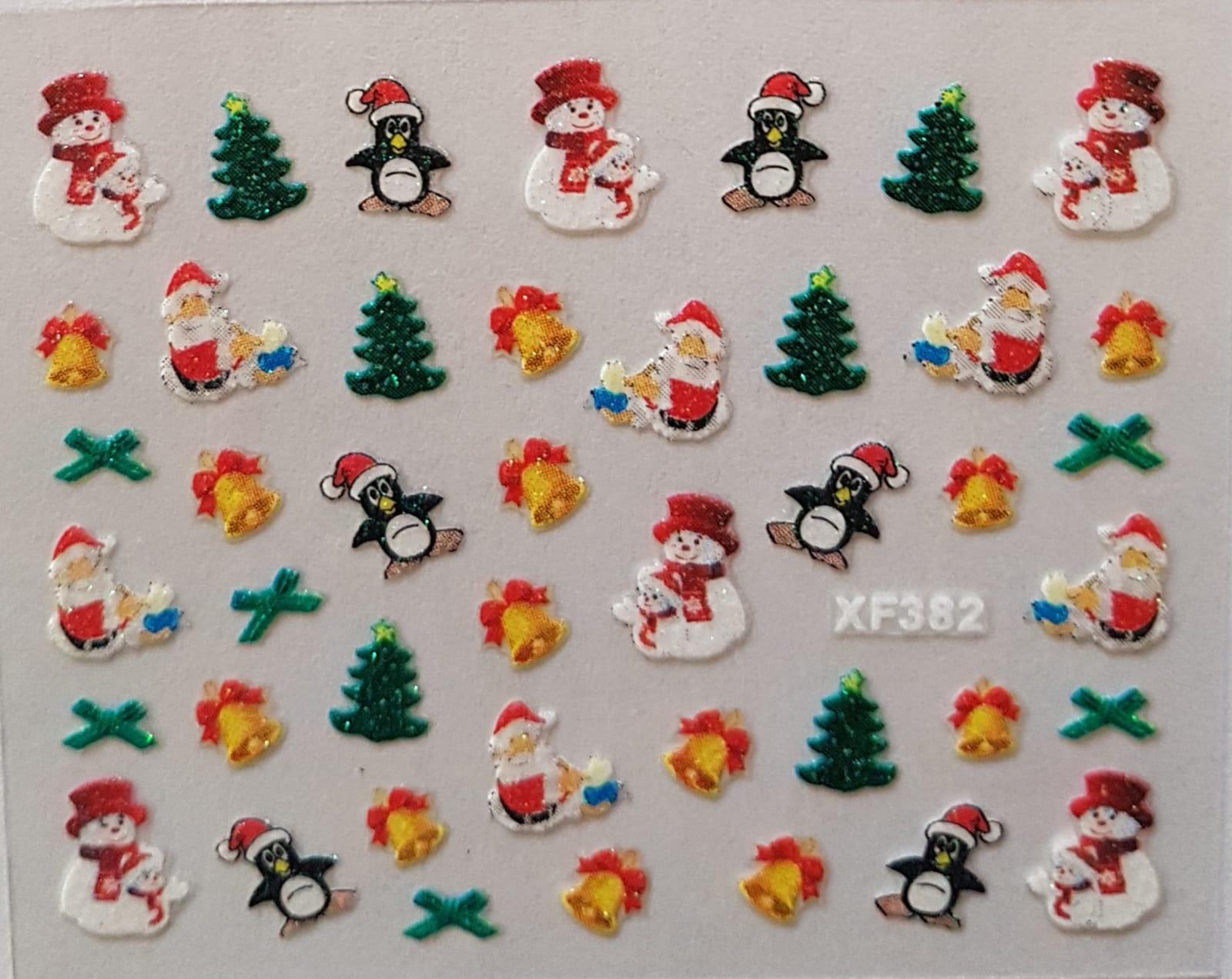 Stickers navideños xf-382