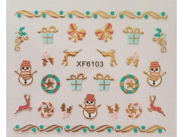 Stickers navideños xf-6103 [0]