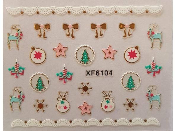 Stickers navideños xf-6104 [0]