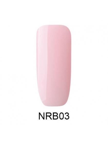 Base Rubber 2 en 1 Pudding pink Makear