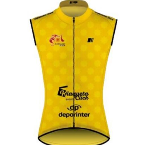 Chaleco Oficial Lider 67º Edición Vuelta Andalucia - Ruta del Sol Lightweight