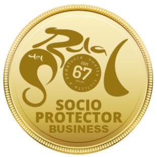 "SOCIO - PROTECTOR ORO "" Business"""