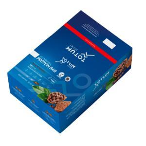 Totum Sea Mineral Protein Bar Cacao & Hazelnut (Caja de 24 unidades)