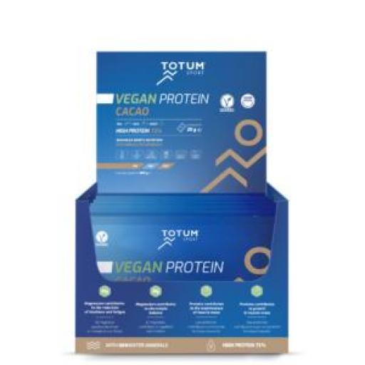 Totum Vegan Protein Cacao (caja de 24 unidades)