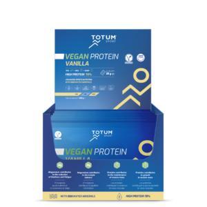 Totum Vegan Protein Vanilla (caja de 24 unidades)